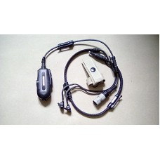 RACAL ACOUSTICS US MIL SPEC FRONTIER IN EAR HEADSET KIT RA5500 6 PIN
